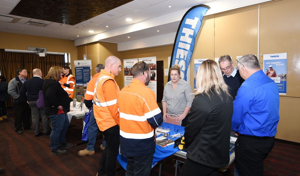 Dialogue back in business with Muswellbrook procurement networking event